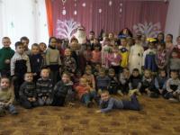 Праздник Святого Николая в детском саду.